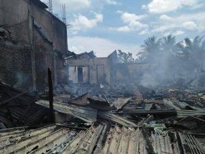 Lima Rumah Ludes Dilalap Sijago Merah
