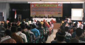 KPPS  Se Kecamatan Ambulu Bersumpah  Siap Sukseskan Pemilu 2019