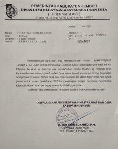 Surat DPMD