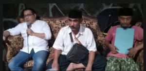 Didik Muzani SH (kiri), Cak Nung (Tengah), Umar Al Farouk (kanan)