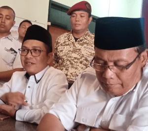 Dima Akhyar saat diterima Ketua DPC Gerindra