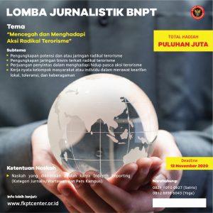 Lomba Menulis Jurnalistik BNPT