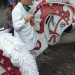 Cawabup Taufiqulbar Menari Tarian Banjarkemuning Bersama Seniman Krian