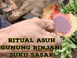Asuh Gunung Suku Sasak Lombok Utara Ritual Menjaga Kelestarian Gunung dan Hutan