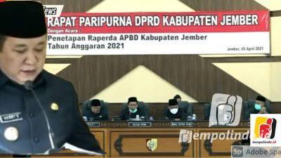 RAPBD 2021 Ahirnya Di Dok Setelah Dua Tahun Kabupaten Jember Tidak Memiliki APBD