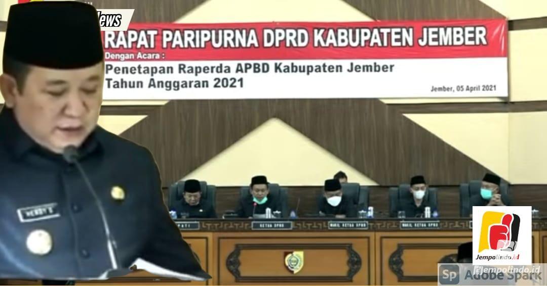 Rapat Paripurna DPRD Jember