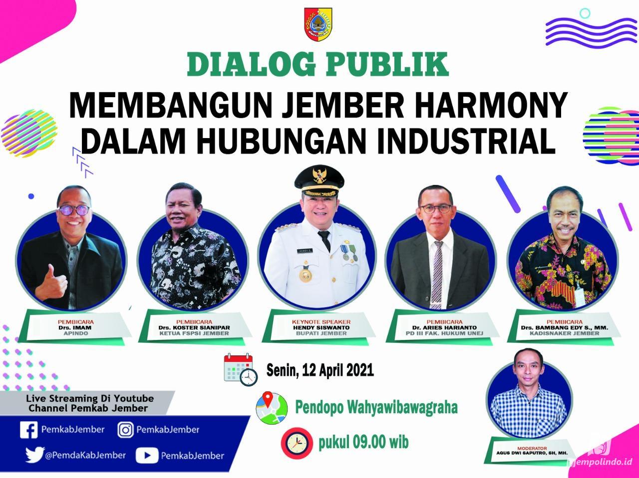 dialog publik membangun jember harmoni