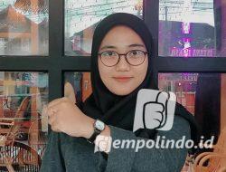 Sekretaris DPC GMNI Jember Yuyun Nur Robikhah