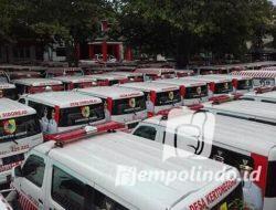 Bupati Jember Hibahkan Ambulance Desa