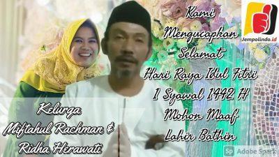 Selamat Hari Raya Idul Fitri 1 Syawal 1442 H Mohon Maaf Lahir Bathin