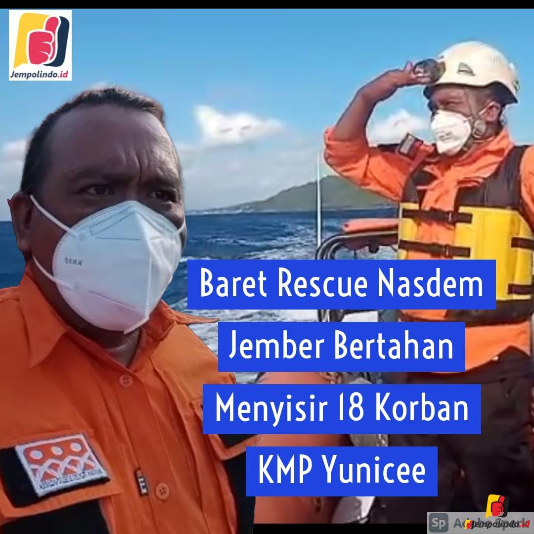 Baret Rescue Nasdem Jember