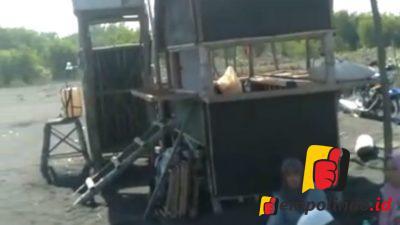 Gubuk Petani Terbakar, Diduga Terkait Konflik Tambak