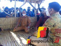 Warga Desa Kepanjen Tuntut Buka Akses Jalan, Nyaris Bentrok