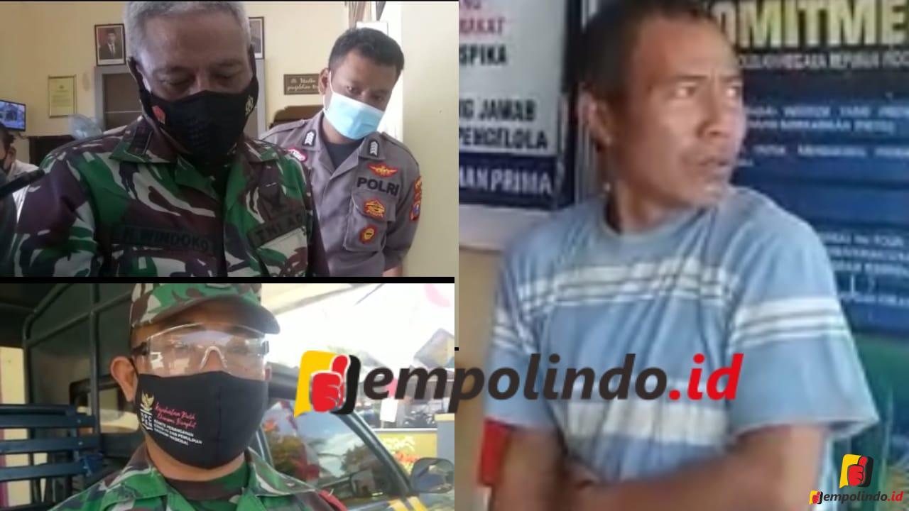 DGJ Pakai Atribut TNI